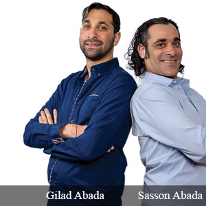 Sasson Abada, Chief Customer Officer & Co-Founder and Gilad Abada, Chief Technology Officer & Co-Founder, Callifi