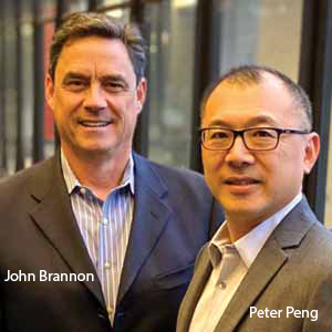 John Brannon, President & CEO and Peter Peng, Vice President, Systems Engineering & Operations, LightSpeed Technologies