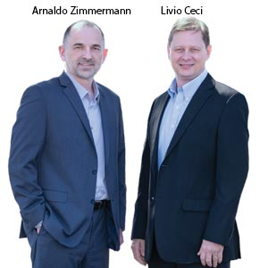 Arnaldo Zimmermann, CEO and Livio Ceci, VP of Engineering, ZPE Systems