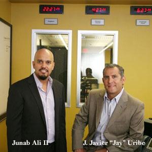 "Junab Ali II, President & Co-Founder, J. Javier ""Jay"" Uribe, President & Co-Founder, Scott King, CTO, Mobius Partners"
