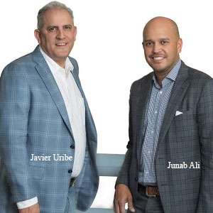 Javier Uribe & Junab Ali, President & Co-founders, Mobius Partners