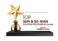 Top 10 SDN & SDWAN Solutions Providers in Europe - 2020